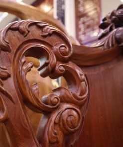 Bàn ghế gỗ louis