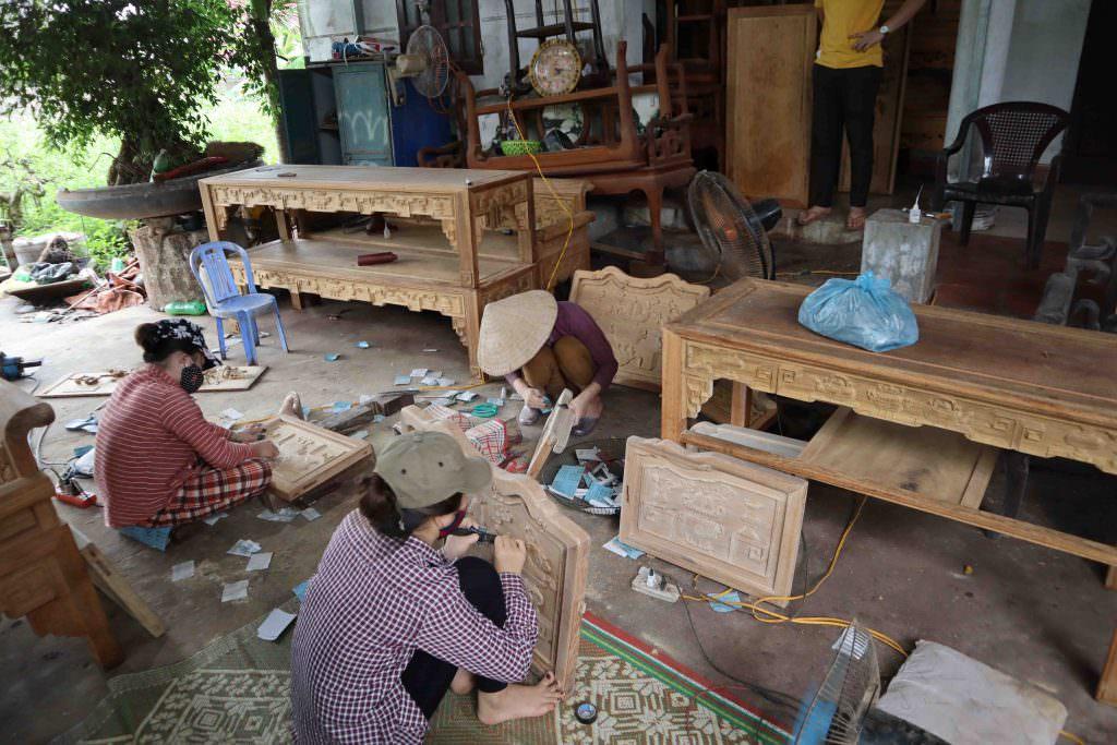 trường kỷ gỗ, đồ gỗ ngọc sơn, dogongocson