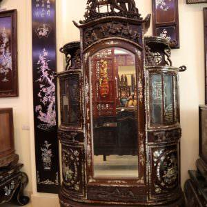 Tủ chùa Tủ Bán Nguyệt - TBN-001
