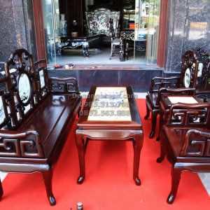 bàn ghế gỗ móc mỏ