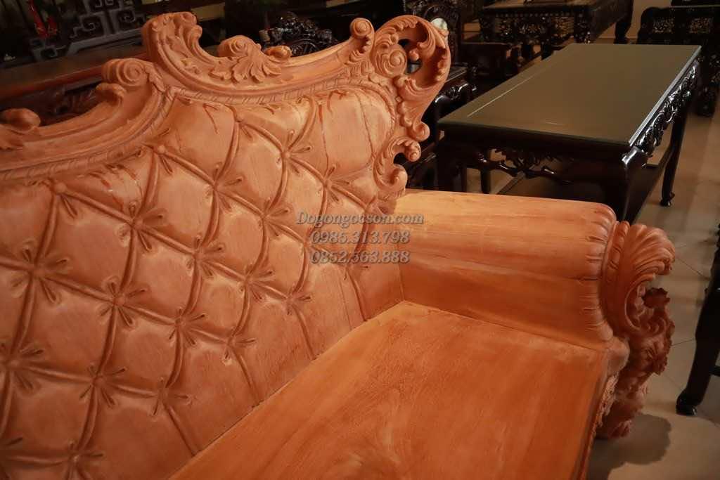 Chi tiết chương ghế và vai ghế