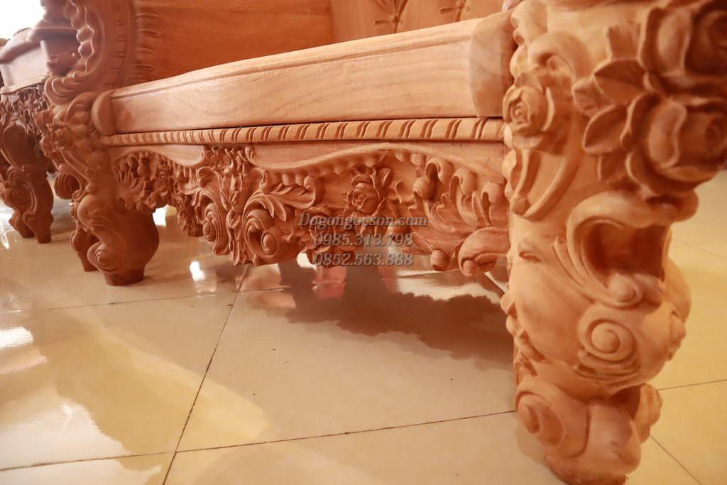 Chi tiết chân ghế, dạ ghế và khuân tranh