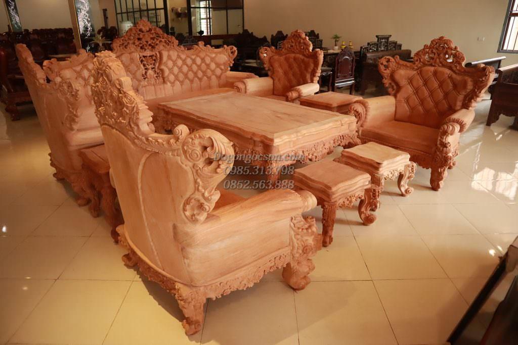 Bàn ghế hoàng gia - Kiến tạo không gian
