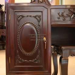 Bàn trang điểm gỗ gụ BTD005