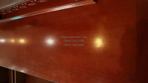 Bàn trang điểm Louis gõ đỏ BTD002