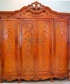Tủ quần áo gỗ hương TQA001