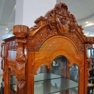 Tủ rượu gỗ gõ đỏ TR002
