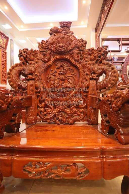 Bộ bàn ghế đỉnh rồng NC002