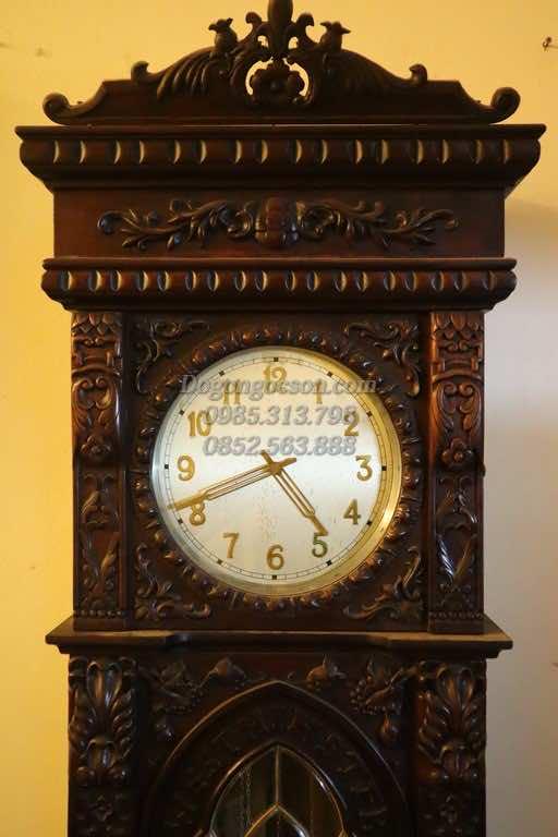 Đồng hồ tạ gỗ gụ