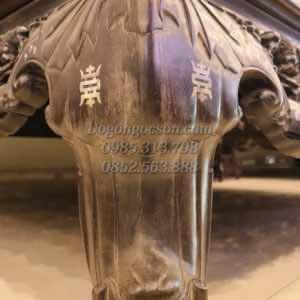 Chân sập cùng chữ thọ