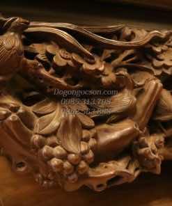 sập đục mai gỗ gụ