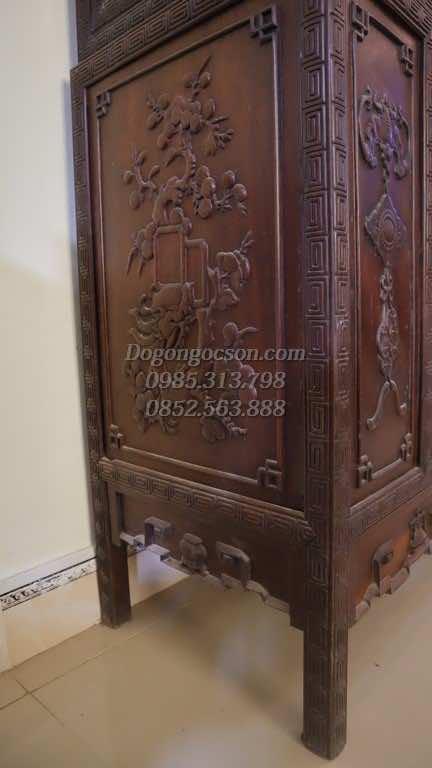 Chi tiết bệ tủ TRG004