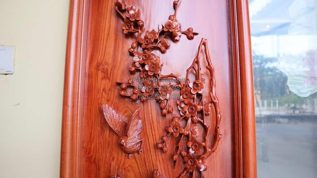 Phù dung cúc trúc mai gỗ hương