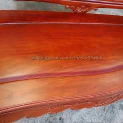 Mặt lá của đoản kỷ là một tấm ván gỗ rất dày dặn và vân hiện rõ ràng