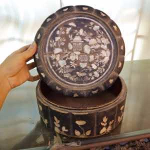 Đồ cổ khay tráp thời CV302