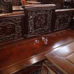 Mẫu trường kỷ đẹp - trường kỷ cổ đồ vai lật gỗ gụ