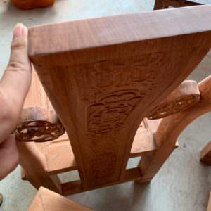 Chi tiết tựa ghế dày 3cm